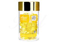 [エリプス]ヘアビタミンカプセル・イエロー(Ellips Hair Vitamin・Smooth & Shiny With AloeVera Oil)